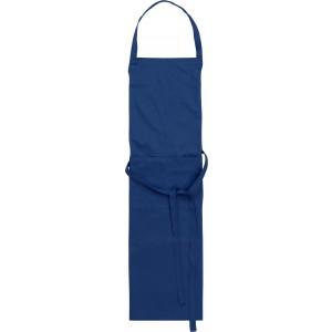 Kötény, pamut/poliészter, kék